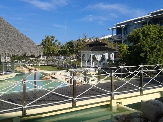 Royalton Hicacos Varadero Resort & Spa: uitzicht vanuit lobby