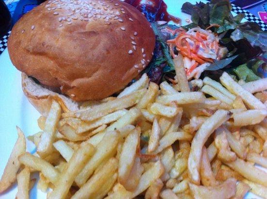Cafe Racer Diner : bacon burger