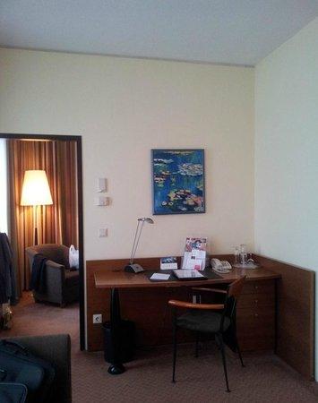 Hansa Apart-Hotel Regensburg: Wohnbereich