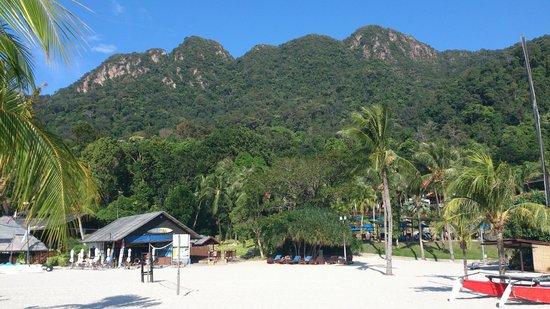 Berjaya Langkawi Resort - Malaysia : Paysage autour de la plage
