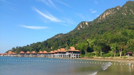 Berjaya Langkawi Resort - Malaysia : les bungalows sur pilotis