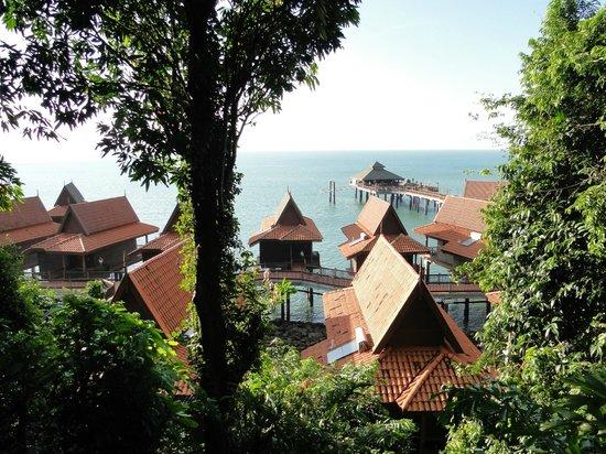 Berjaya Langkawi Resort - Malaysia: vue des Beach bungalows
