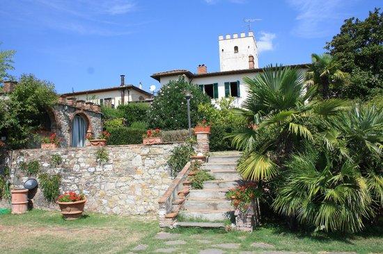 Agriturismo Villa il Leccio: View of the Villa from Pool area