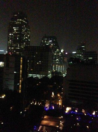 Rembrandt Hotel Bangkok: vista dalla camera piano 9