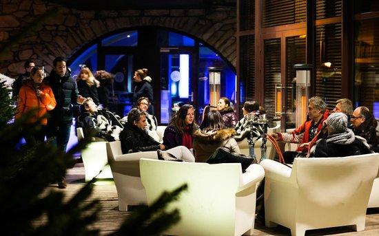 Val d'Isère, France : Terrasse Ice Lounge & Shisha Lounge - Bar Le Jack