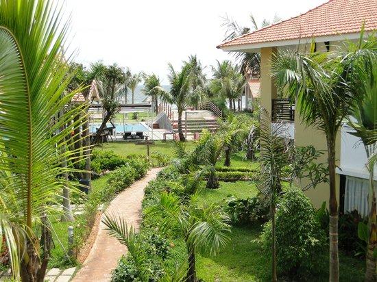 Famiana Resort & Spa : la vue depuis un beach bungaow