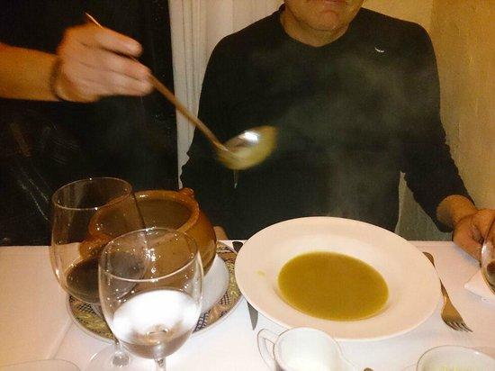 El Trull : Vorspeise Hausgemachte Gemüsesuppe