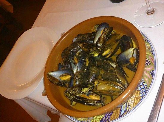 El Trull : Vorspeise Mejillones a la Marinera wie es sich gehört