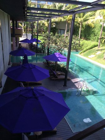 Taum Resort Bali: View from the reception area.