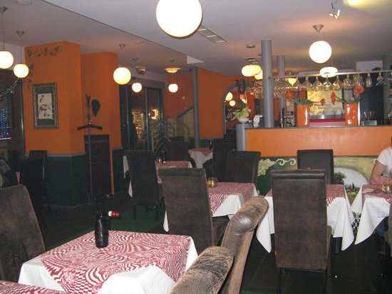 Casablanca Club: Ресторан внутри