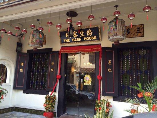 The Baba House : Entrance