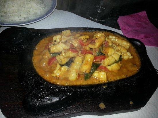 L'Assiette de Chine: seiche au curry