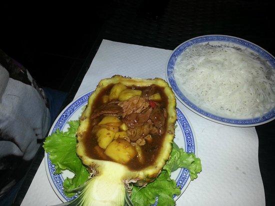 L'Assiette de Chine: porc a l'ananas