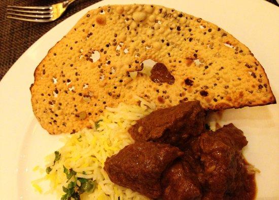 Sailendra Restaurant JW Marriott Jakarta: Indian food