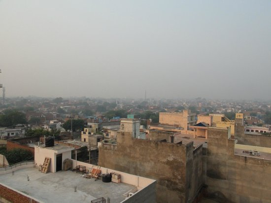 Hotel Mumtaz Mahal: View from the rooftop
