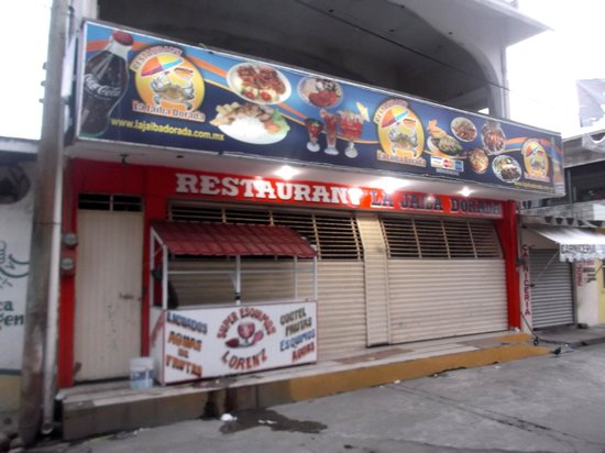La Jaiba Dorada: Photo du restaurant au 30 janvier 2014.