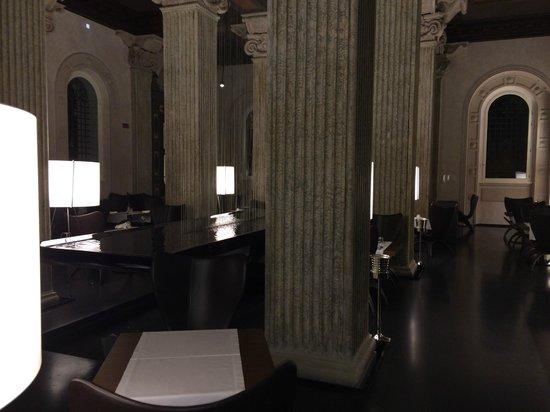 Palazzo Montemartini: La sala ristorante