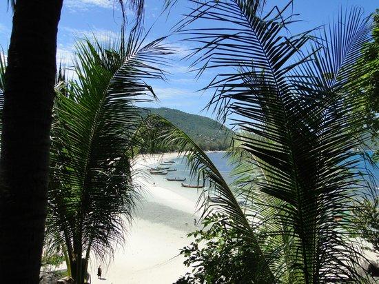 Koh Tao Cabana: La vue depuis les Beach cabanas