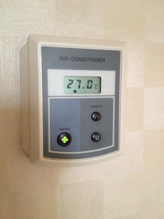 Hotel Nongshim: Aircon shut off as a function of date rather than temperature