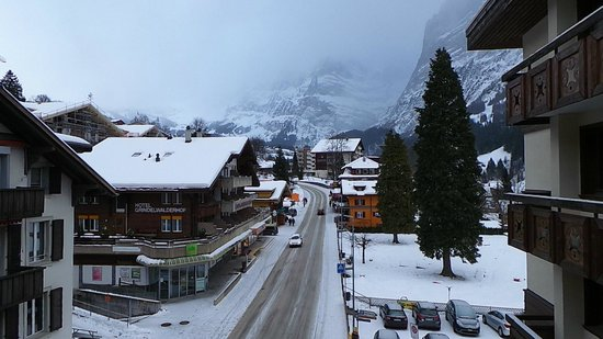Hotel Spinne: hotel position in Grindelwald