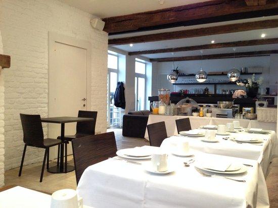 Walwyck Hotel Brugge: Comedor Desayunos