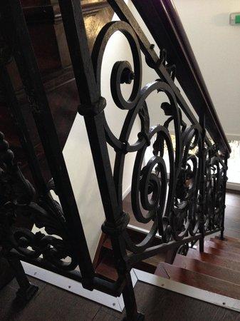 Walwyck Hotel Brugge : Detalle Escalera