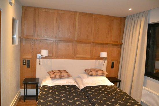Lapland Hotel Olos: Coté lits