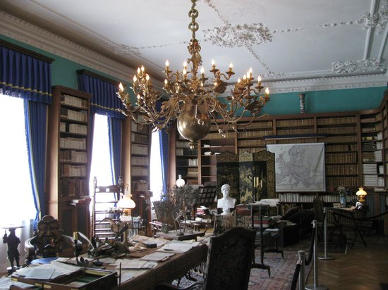 Puecklerpark Branitz: Im Schloss