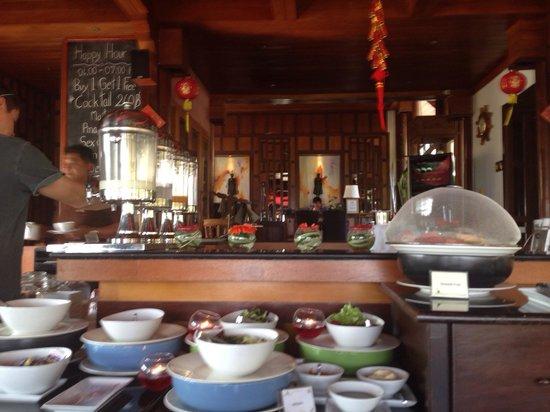 Baan Yin Dee Boutique Resort : RICE RESTAURANT Breakfast Buffet