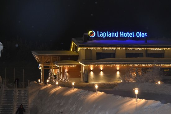 Lapland Hotel Olos : Hotel extérieur