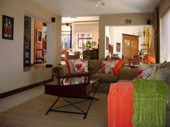 Gecko Ridge Guest House: lounge