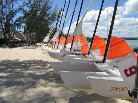 Club Med La Pointe aux Canonniers : bateau à voile