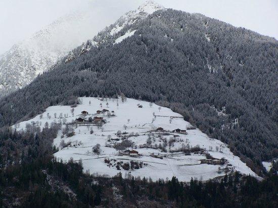 Gasthof Tiefenbrunn : vista dal balcone della camera
