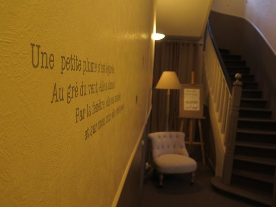 Hotel Le Bretagne : le corridor