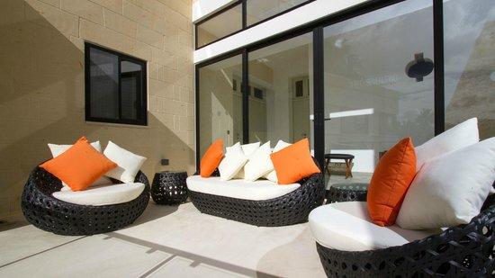 Thirtyseven Gozo: Terrace Relaxation Area