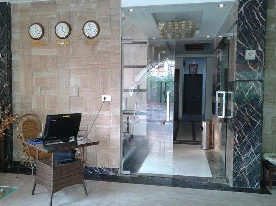 Hotel Mumtaz Mahal: Reception