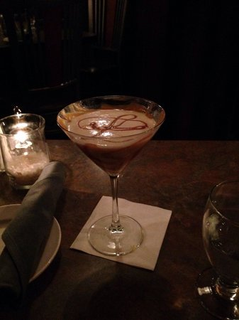 The Stage Restaurant & Cafe: Great martini/cocktail list. Salted Caramel Martini! Yum!