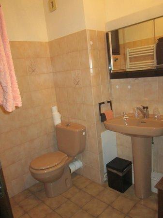 Hotel de la Cascade : Salle de bains