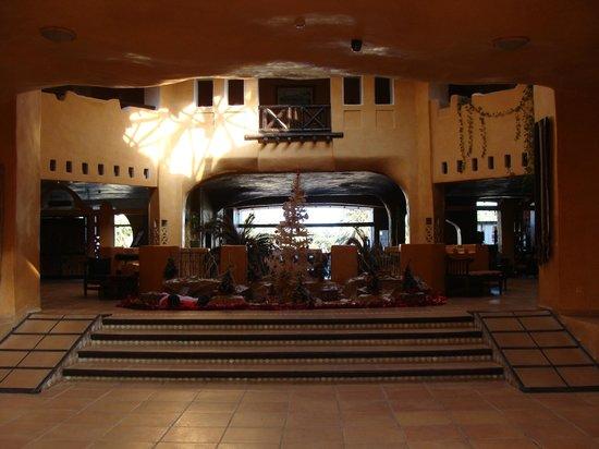 Odyssee Resort & Thalasso : Accueil décoré pour Noël