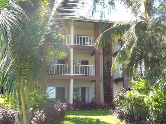 Heritage Park Hotel Honiara: Top floor room that faces the ocean