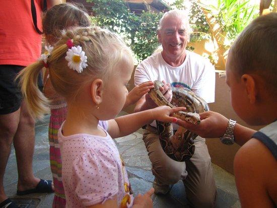 Aquaworld Aquarium & Reptile Rescue Centre : waz i dzieci
