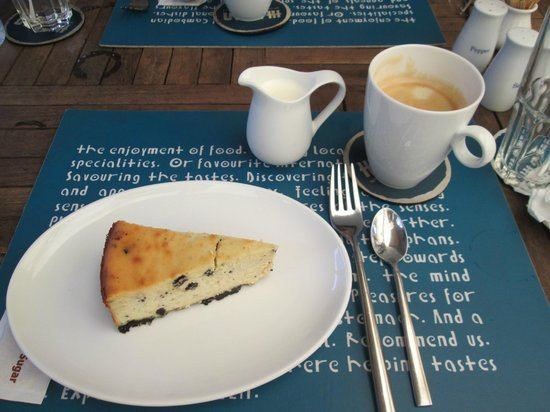 Haven: Cake and coffee