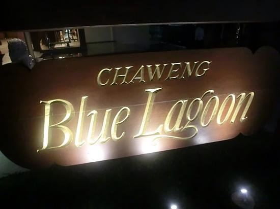 Blue Lagoon Hotel: Entrance sign