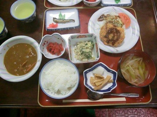 Tadaemon Ryokan: ツアー用夕食
