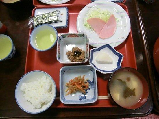 Tadaemon Ryokan: ツアー用朝食