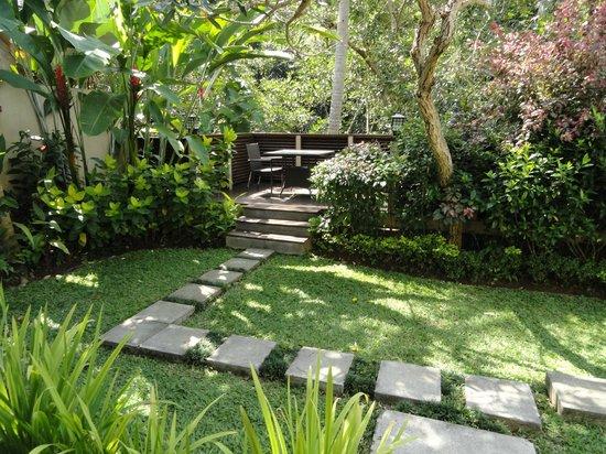 The Samaya Bali Ubud: The Terrace and Garden in the Villa