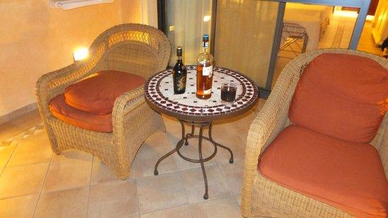 Gran Hotel Atlantis Bahia Real : Balconey