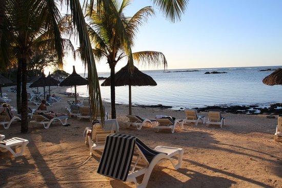 Canonnier Beachcomber Golf Resort & Spa: la plage