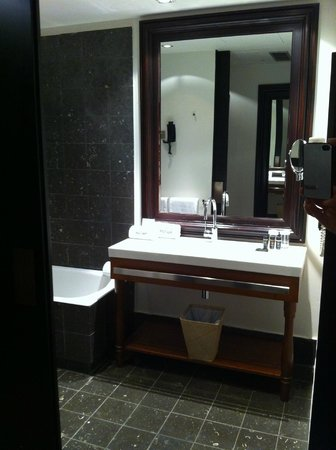 Hotel Pulitzer: sink