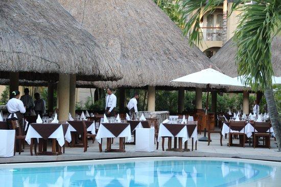 Canonnier Beachcomber Golf Resort & Spa: buffet frangipanier
